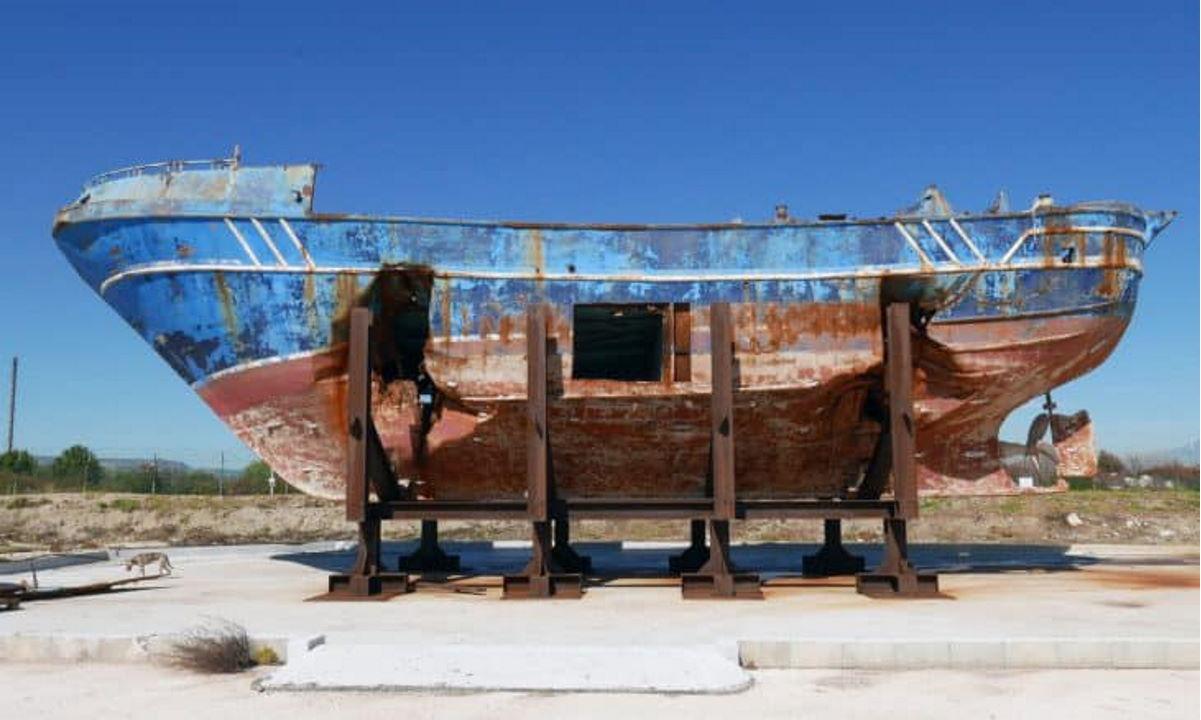 Sarà esposto in modo permanete ad Augusta il relitto del naufragio del 18 aprile 2015