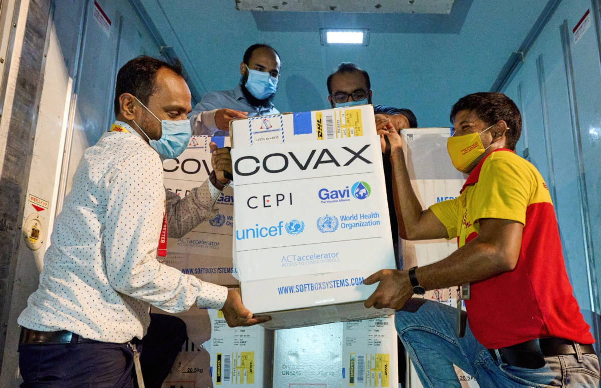 Metà degli 80 Paesi coinvolti nell'iniziativa Covax non ha vaccini sufficienti per svolgere un programma di immunizzazione