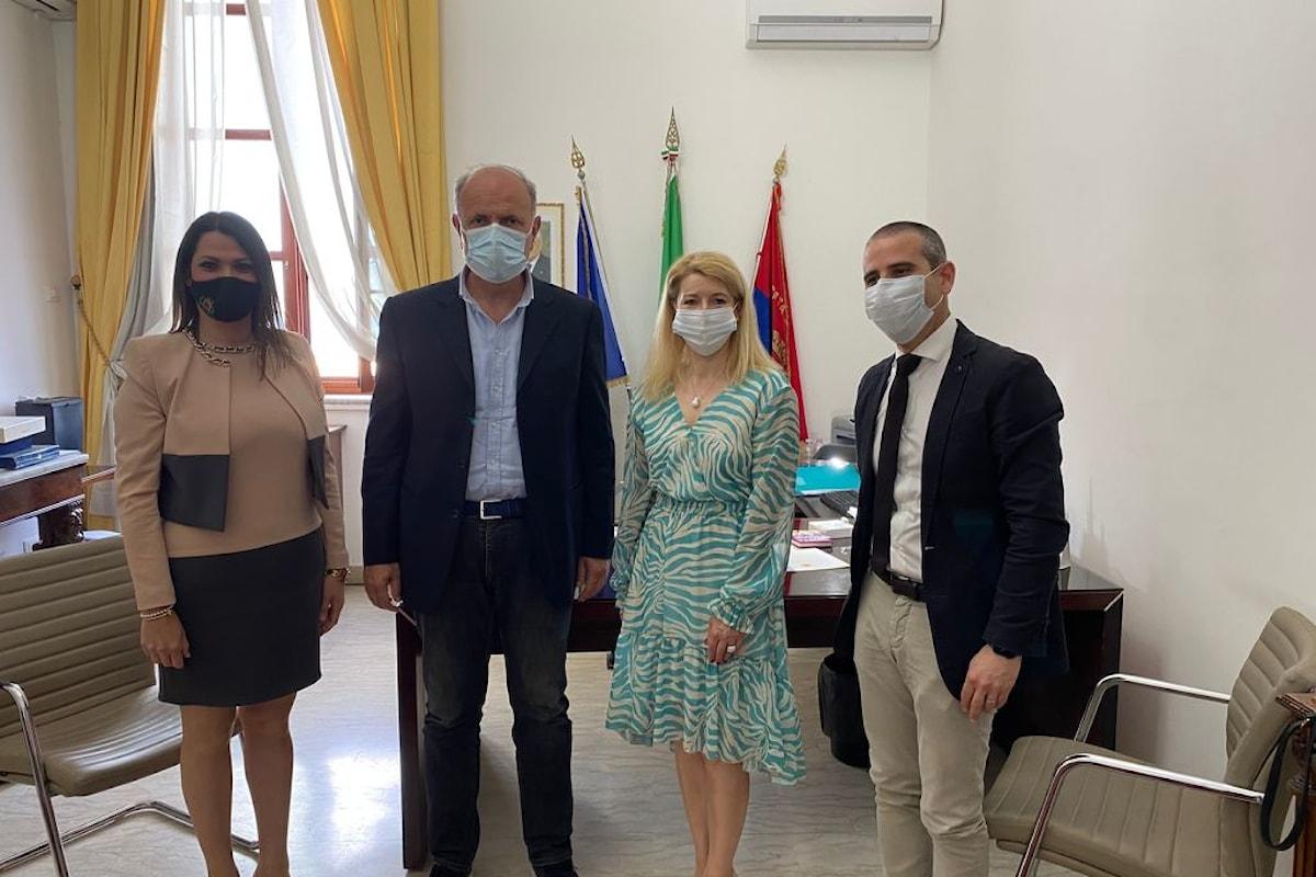 Milazzo (ME) - Idea gemellaggio con la Bulgaria. Rappresentante d'Ambasciata incontra il Sindaco