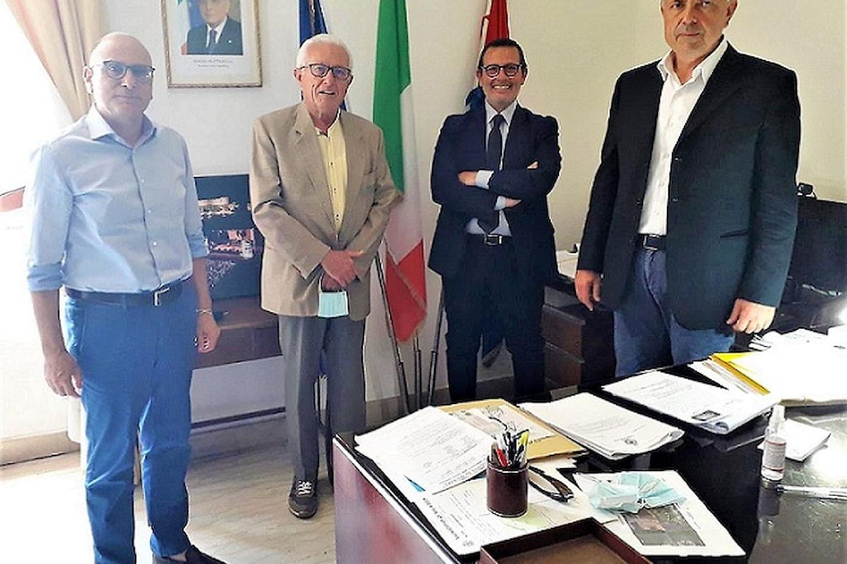 Milazzo (ME) – Il neo presidente della Fondazione Lucifero ricevuto dal Sindaco