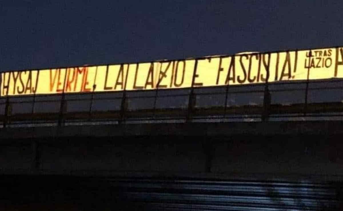 La Lazio è fascista. I suoi ultras lo hanno ricordato al neoacquisto Hysaj