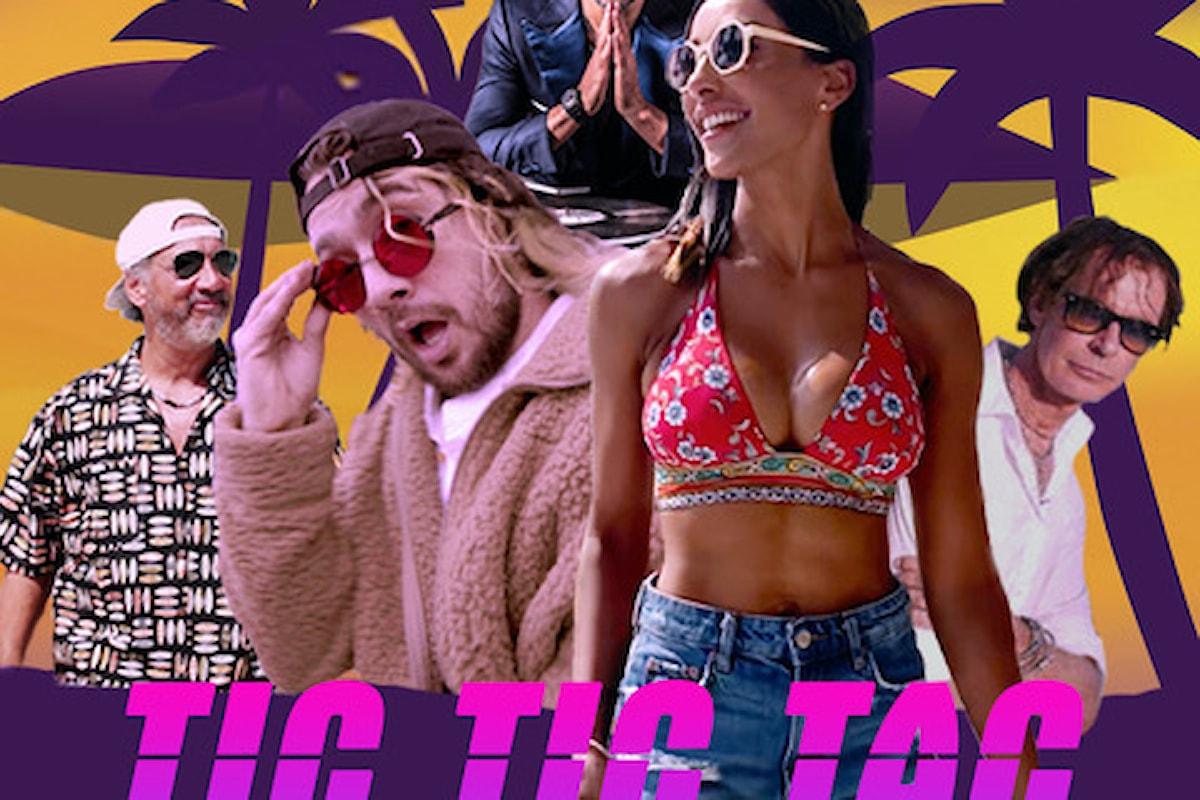 Ben Dj, ci si scatena con Tic Tic Tac, assieme a: Los Locos, Juliana Moreira ed Eddie JoOoe