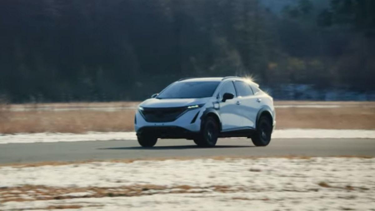 Nissan Ariya, un team di lavoro globale ne ha testato le prestazioni