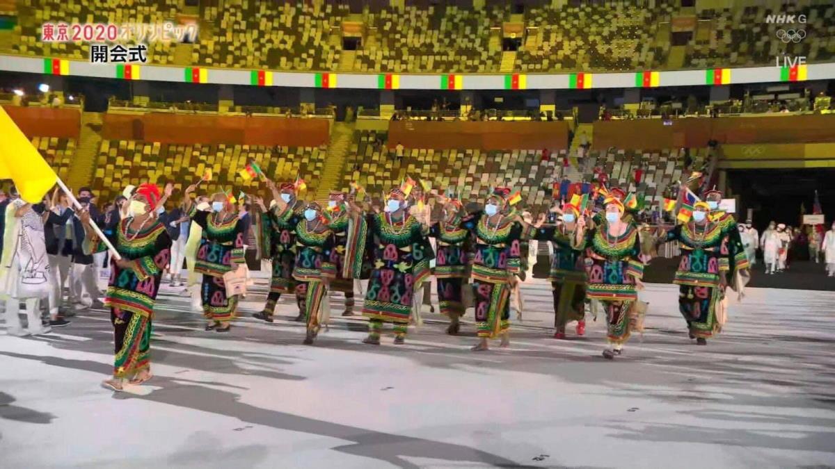 Con la cerimonia d'aperura ha preso il via a Tokyo la 32.esima edizione delle Olimpiadi