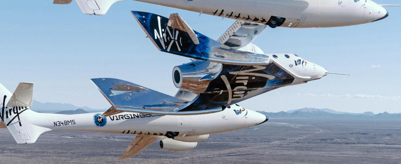 Si è concluso con successo il volo inaugurale di Unity: è iniziata l'era del turismo spaziale.