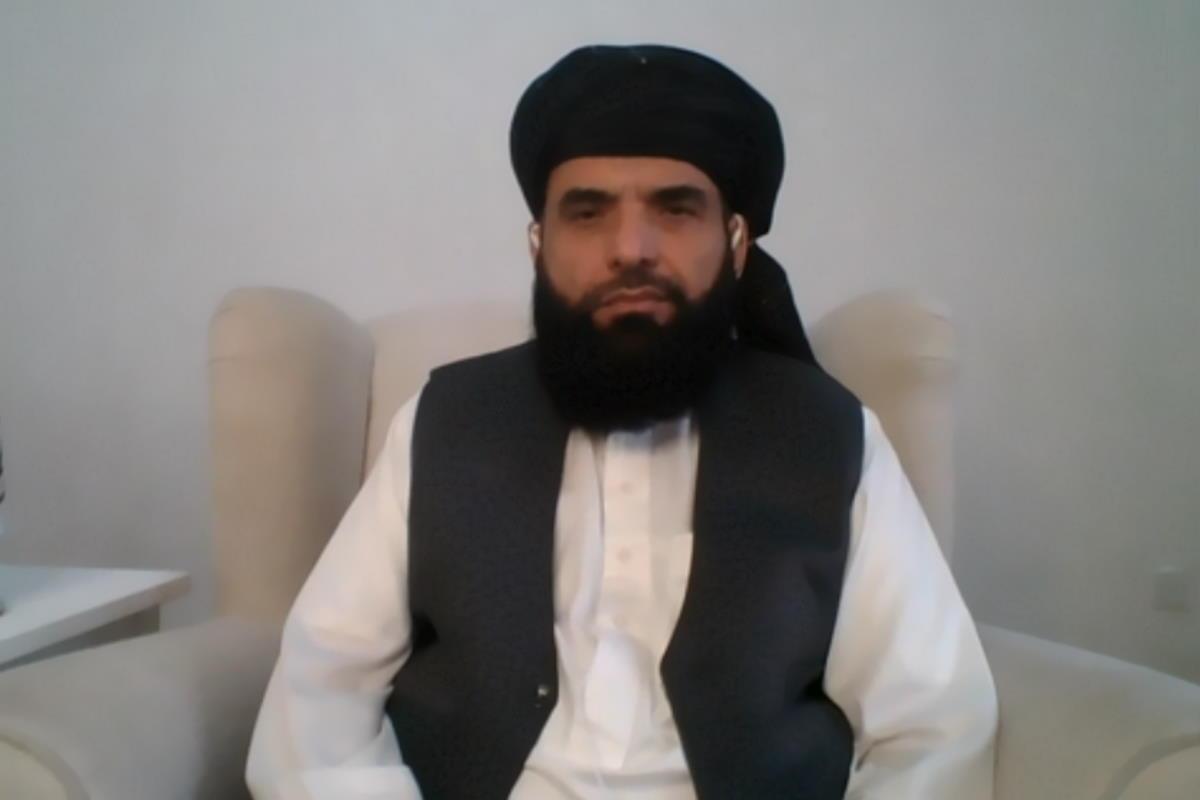 Il portavoce talebano Suhail Shaheen: se l'intenzione è continuare ad occupare l'Afghanistan ci sarà una reazione