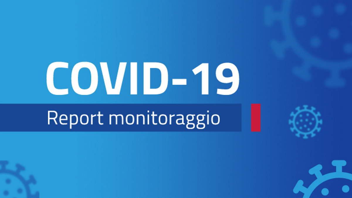 Report monitoraggio Covid dal 2 all'8 agosto 2021: ulteriore leggero aumento dei casi diagnosticati