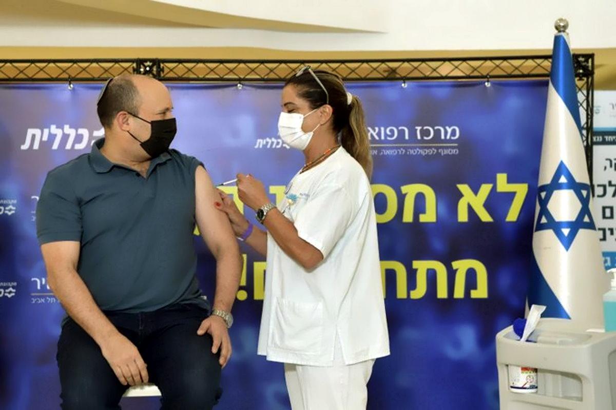 Vaccinazione anti-Covid, Israele apre alla terza dose anche per gli over 40