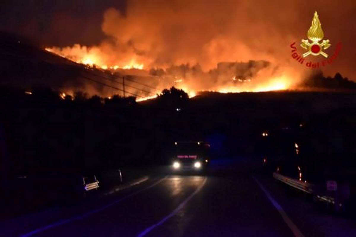Una settimana di fuoco in tutto il meridione