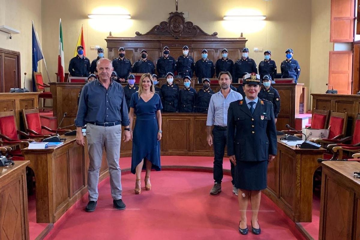 Milazzo (ME) - Oggi iniziano il servizio i vigili urbani stagionali