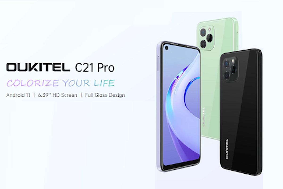 Recensione OUKITEL C21 Pro: il design di iPhone 13 Pro a circa 100 euro