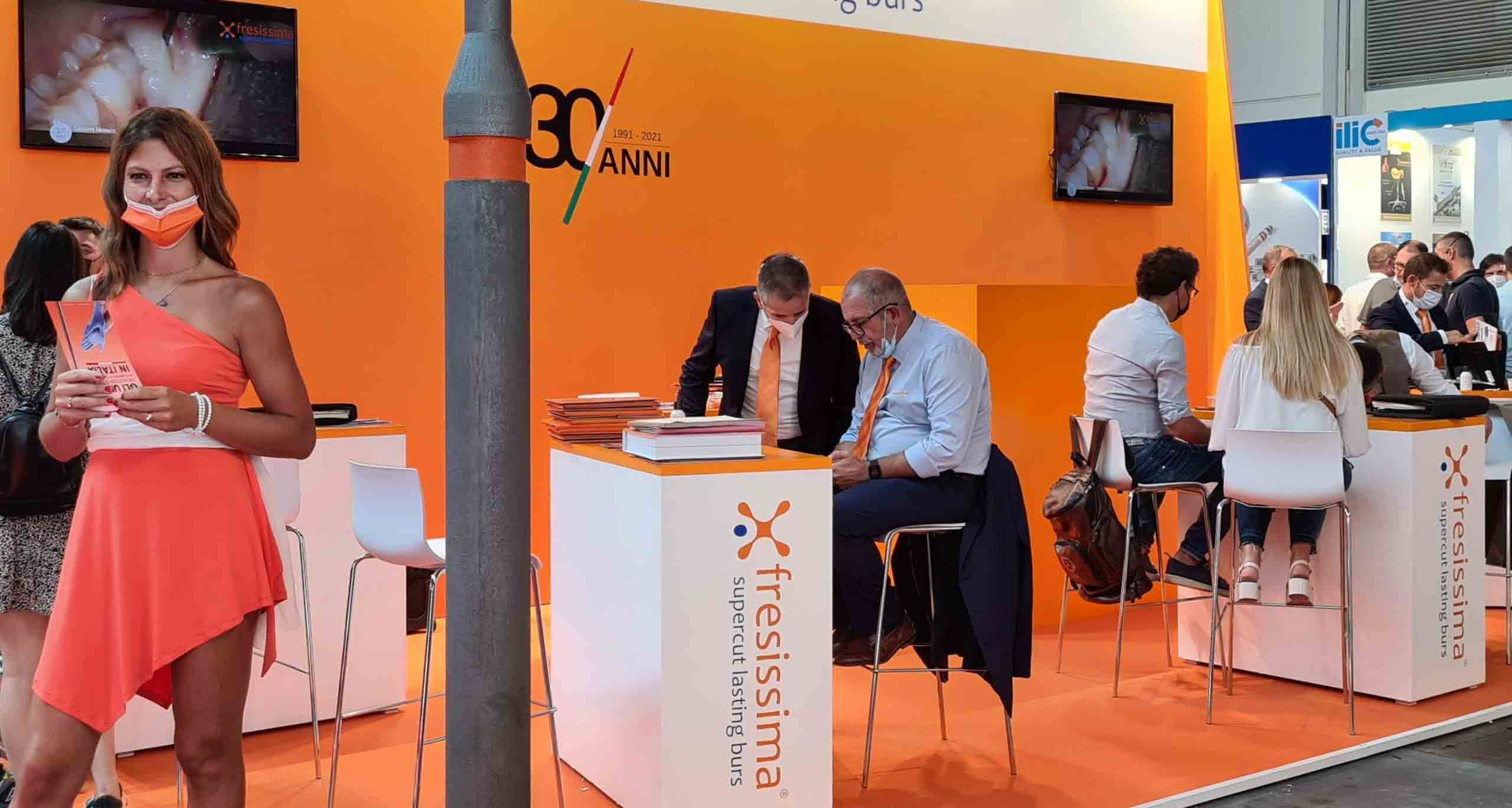 Fresissima protagonista all'Expodental Meeting 2021