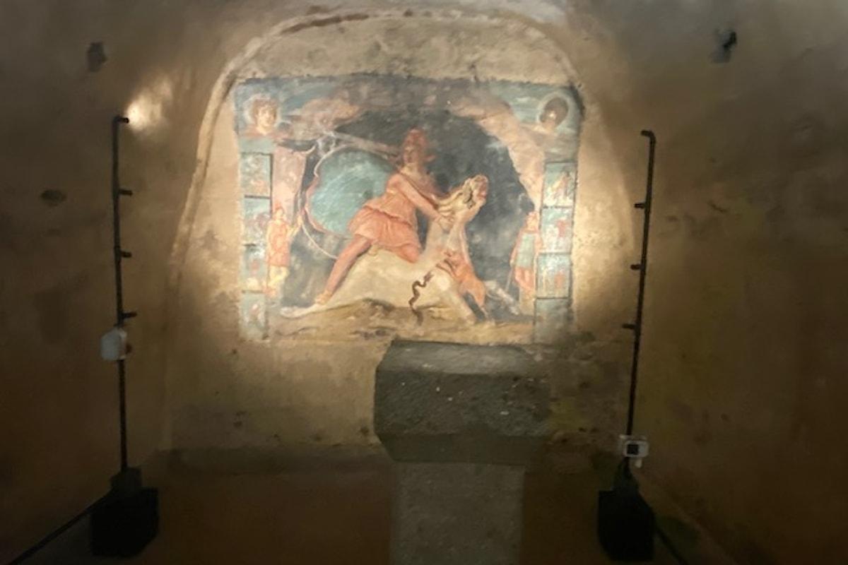 Anteprima stampa dell'inaugurazione del Mitreo della città di Marino (Roma)
