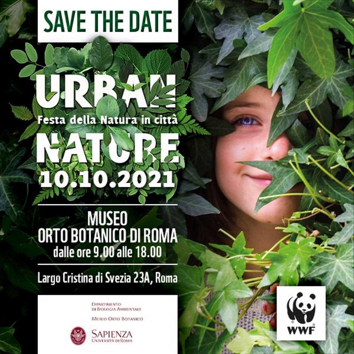 Domenica 10 ottobre, #UrbanNature2021, la Festa della Natura in Città promossa dal WWF