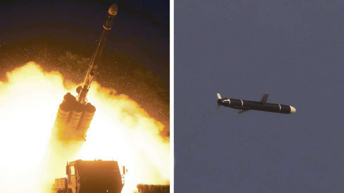 La Corea del Nord ha testato un nuovo missile da crociera nei giorni 11 e 12 settembre