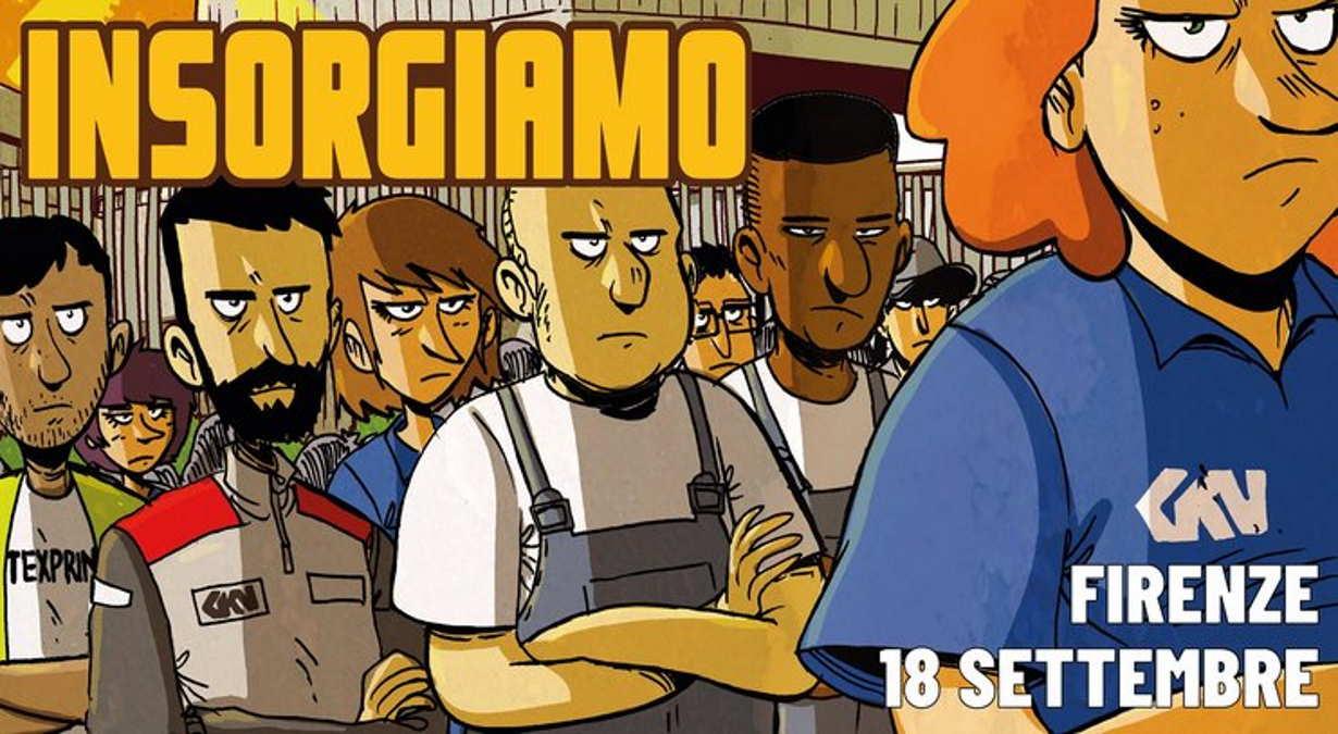 In 30mila hanno sfilato a Firenze a supporto dei lavoratori della Gkn