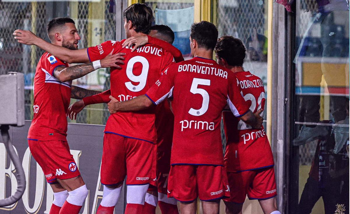La Fiorentina vince in trasferta a Bergamo 2-1 con doppietta di Vlahovic