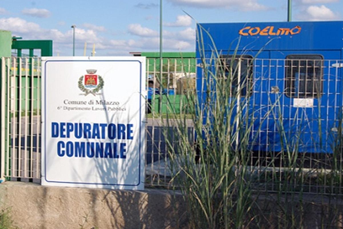 Milazzo (ME) – Seconda linea del depuratore, l'Amministrazione incontra il Commissario