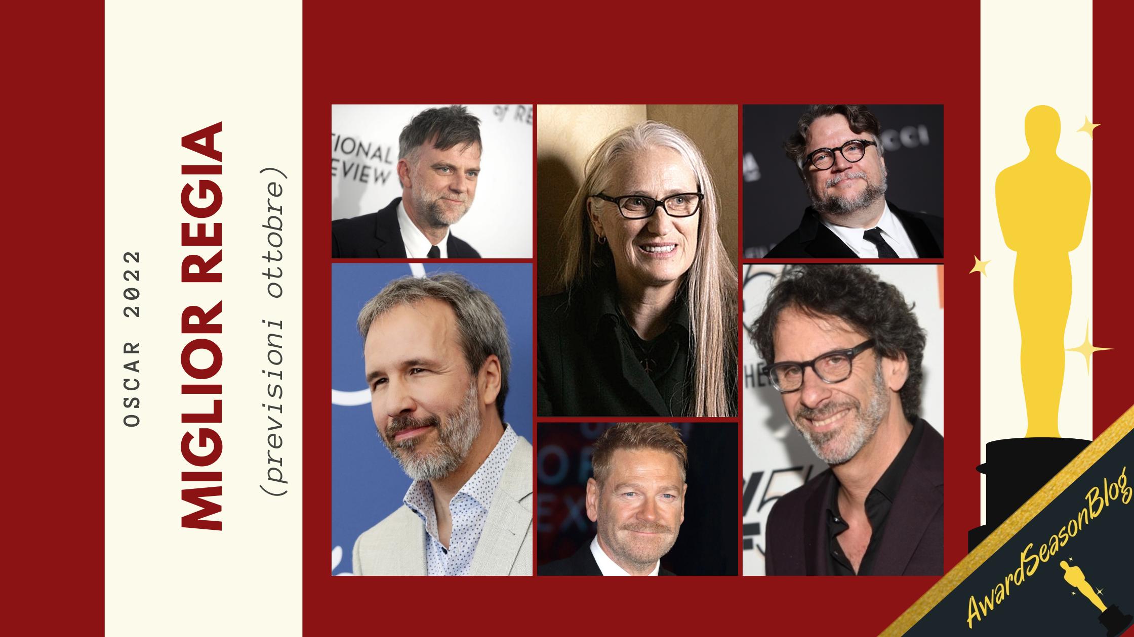 Oscar 2022: quali sono i migliori registi da tenere d'occhio? (previsioni ottobre)