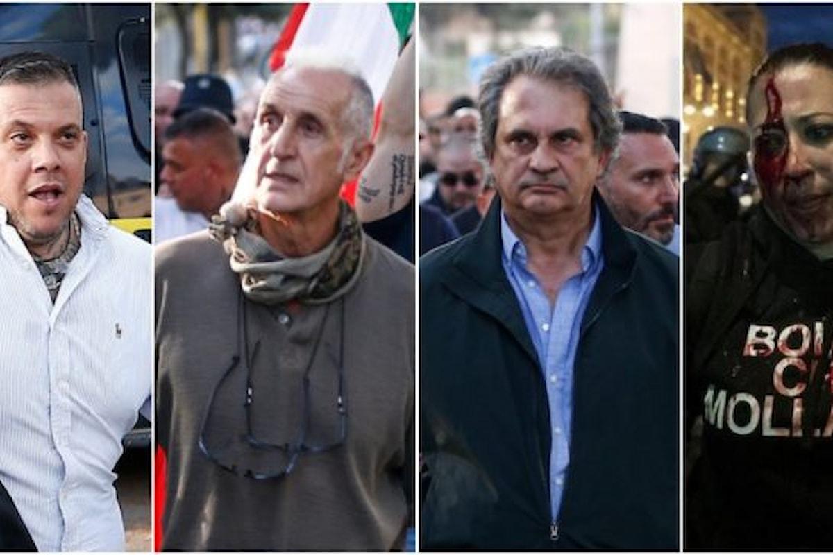 Forza Nuova alza il livello dello scontro : la rivoluzione popolare non fermerà il suo cammino, con o senza di noi.