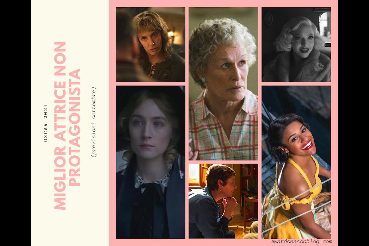 Oscar 2021: quali sono le 15 migliori attrici che possono ambire ad una nomination nella categoria supporter?