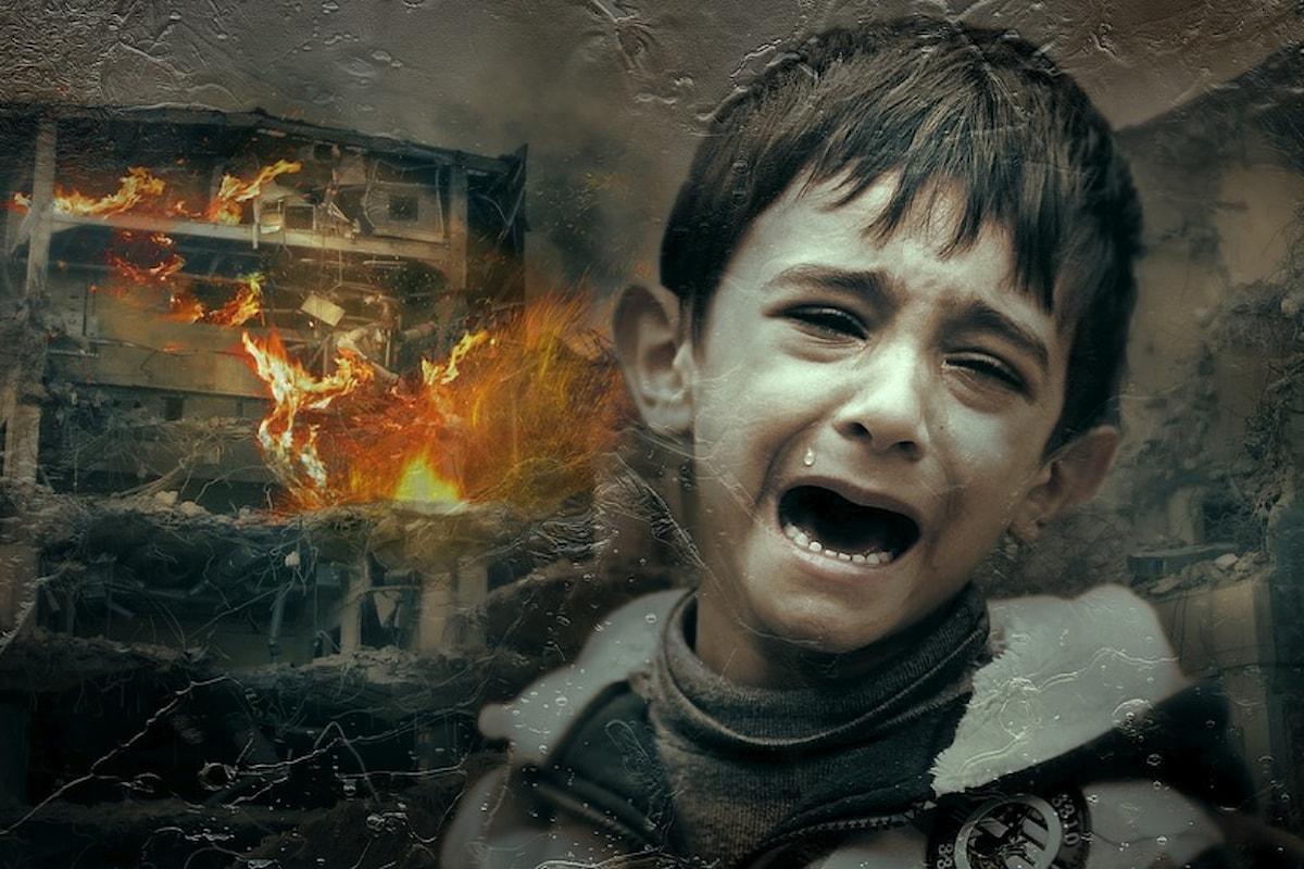 Il pianto dei bambini e l'orrore dell'uomo