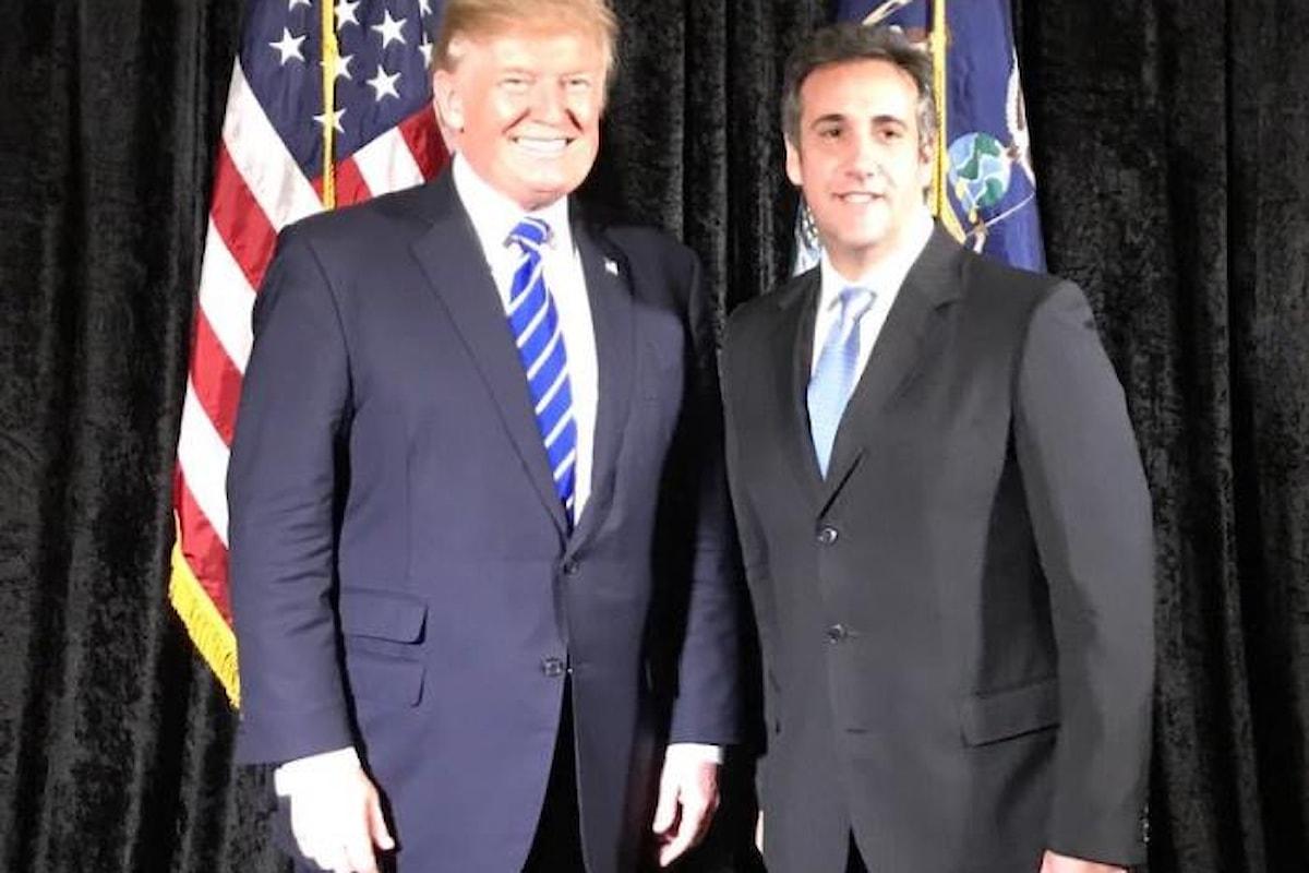 L'ex avvocato mette nei guai Trump che ora rischia l'impeachment