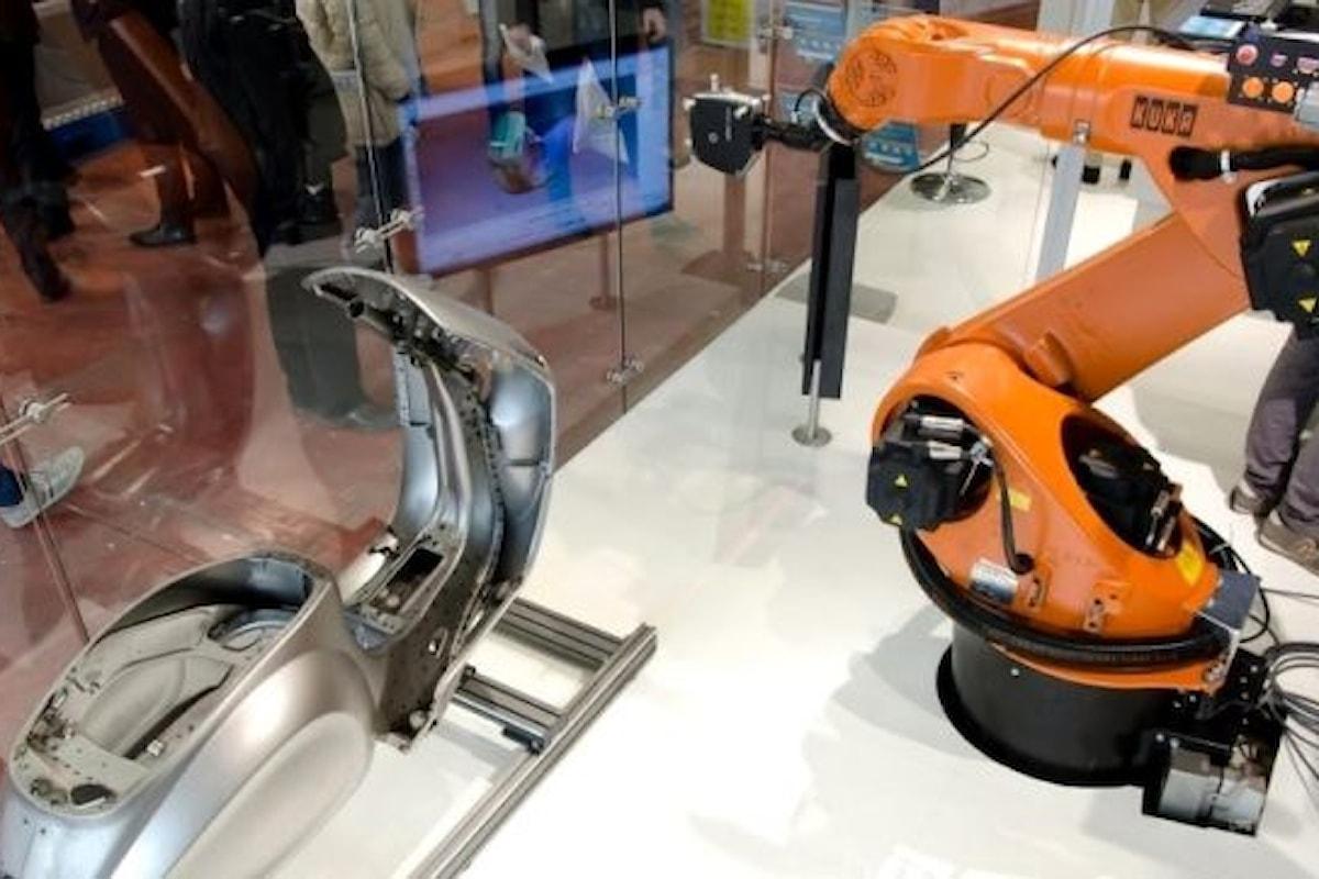 La robotica avanzata al MECSPE: in anteprima il robot che scrive e disegna