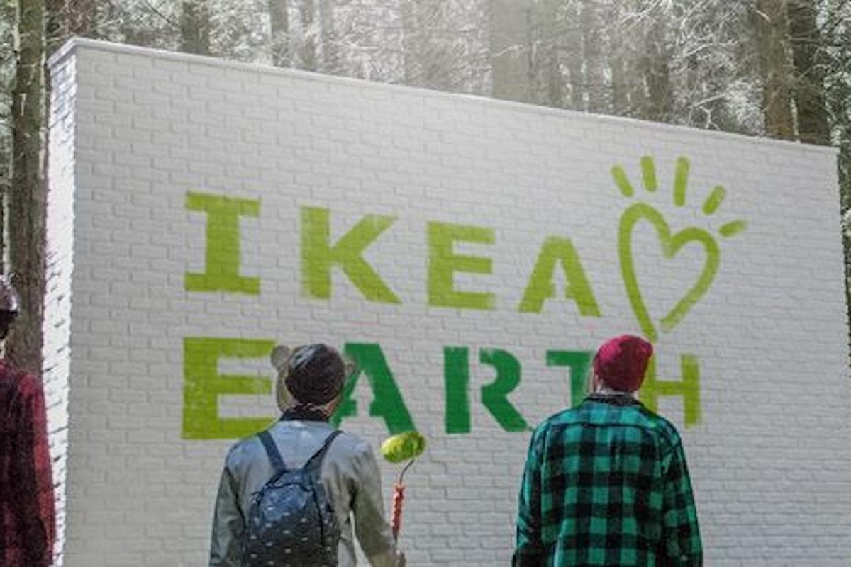 La Street Art salva il pianeta passando per IKEA