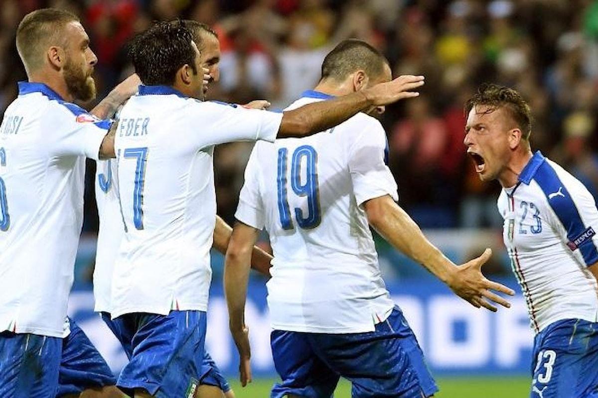 Italia, buona la prima: così si arriva in fondo a Euro2016