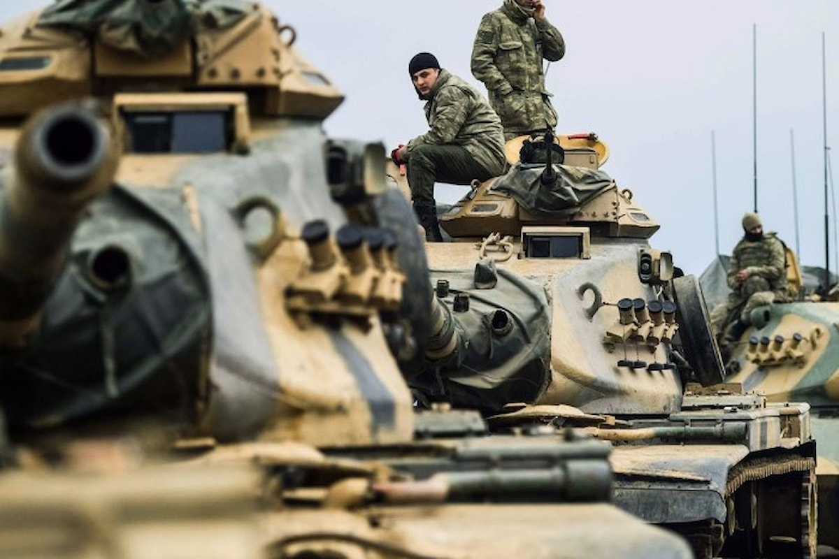 Tillerson in Turchia mentre prosegue l'avanzata dell'esercito di Ankara nell'area di Afrin