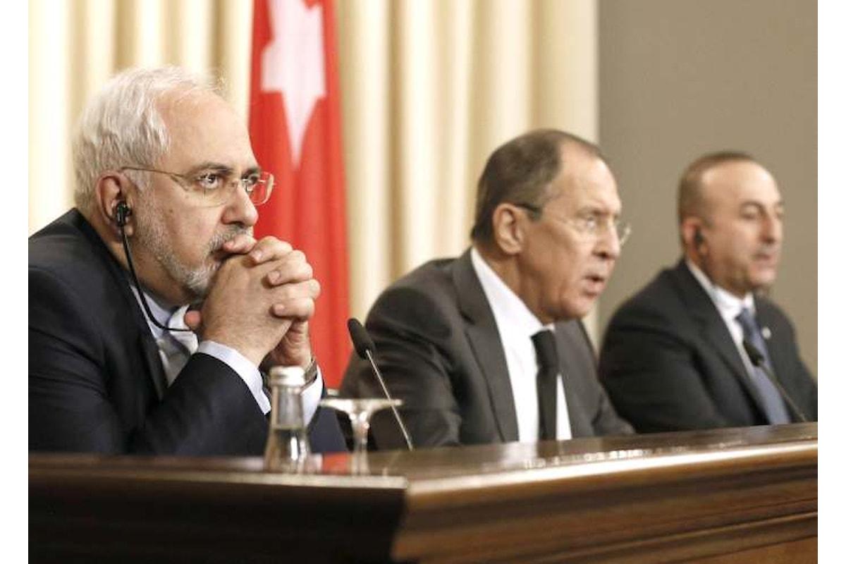 Turchia, Russia ed Iran si sono riuniti per trovare un accordo in Siria