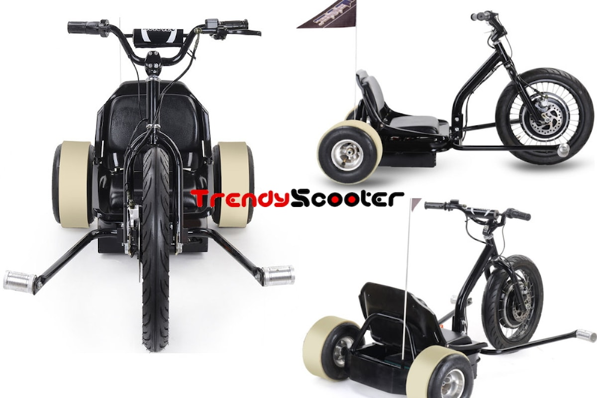 TrendyScooter| MotoTec Electric Big Wheel Drift Trike