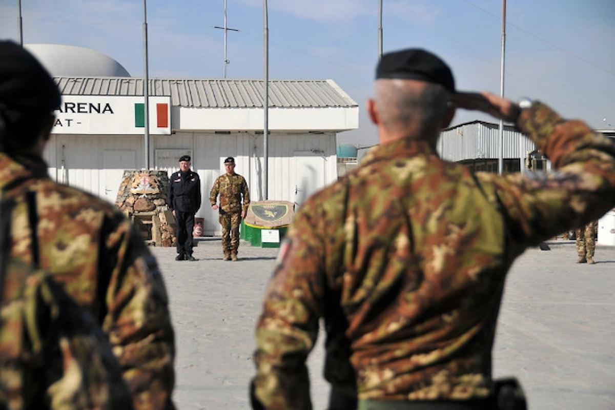 Afghanistan, il Comandante Generale dell'Arma in visita al contingente italiano