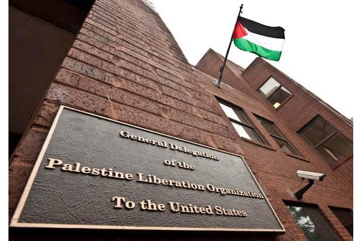 Gli Usa chiudono l'ufficio di rappresentanza dell'OLP a Washington e la Palestina denuncia di nuovo Israele alla CPI dell'Aja
