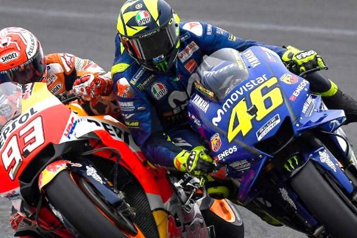 MotoGp, in Argentina scoppia di nuovo la guerra tra Rossi e Marquez