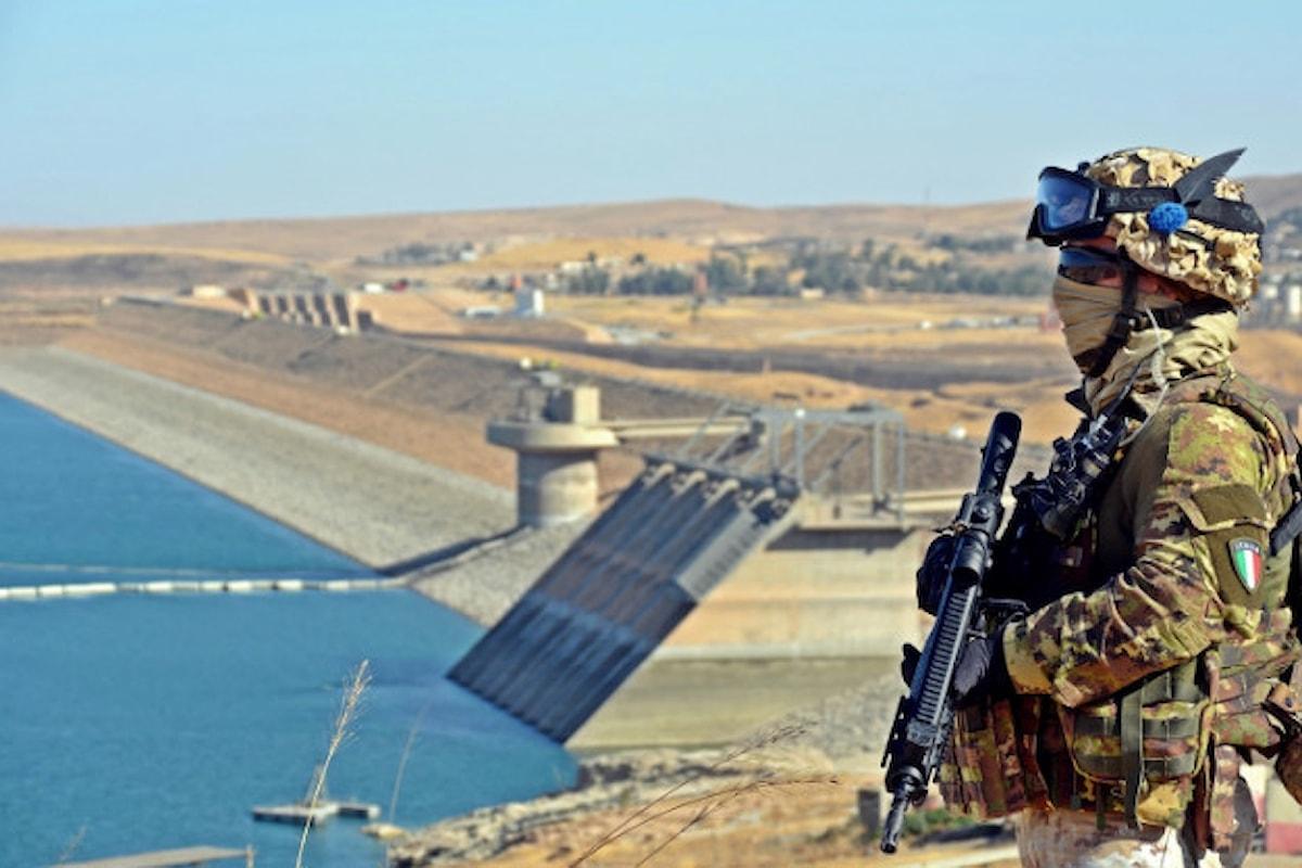 Iraq, militari italiani elogiati dal Capo di Stato Maggiore dell'Esercito iracheno per la sicurezza alla Diga Mosul
