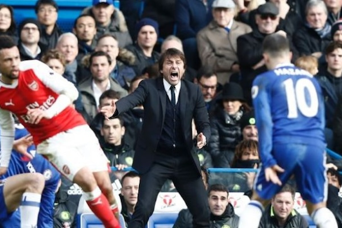 Vola il Chelsea di Conte, il Leicester in piena zona retrocessione