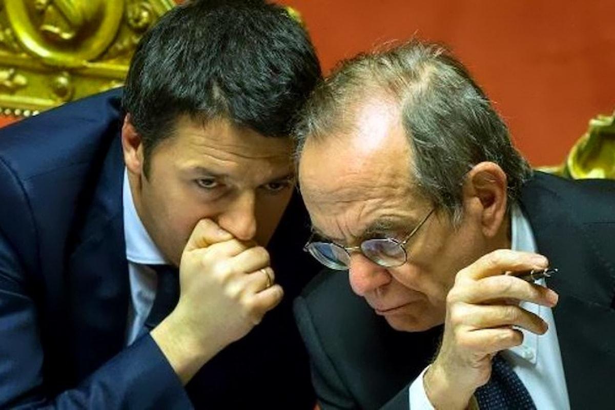 L'incomprensibile candidatura a Siena del ministro dell'Economia Pier Carlo Padoan