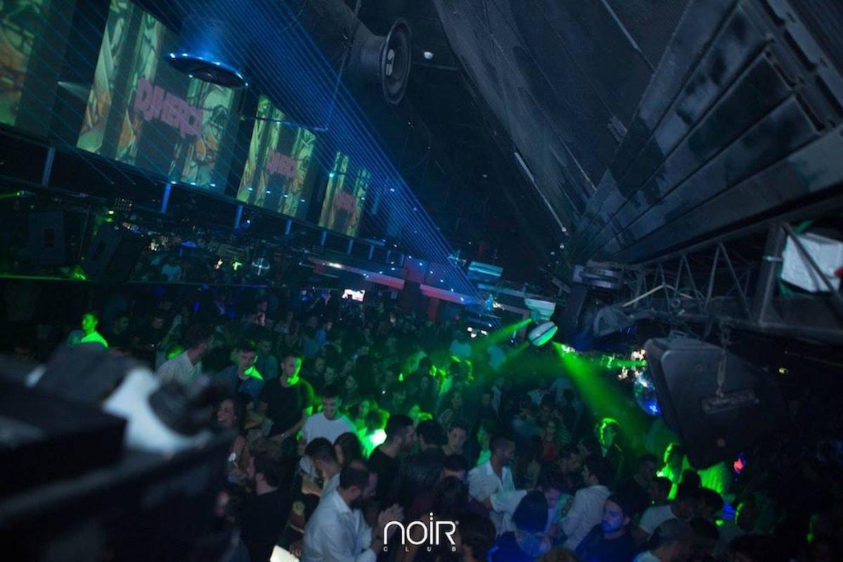 Noir - Lissone (MB): 5/10 Fifties Party, 6/10 OpenWine e Prime on Tour, 7/10 UniBreak, Led in Black