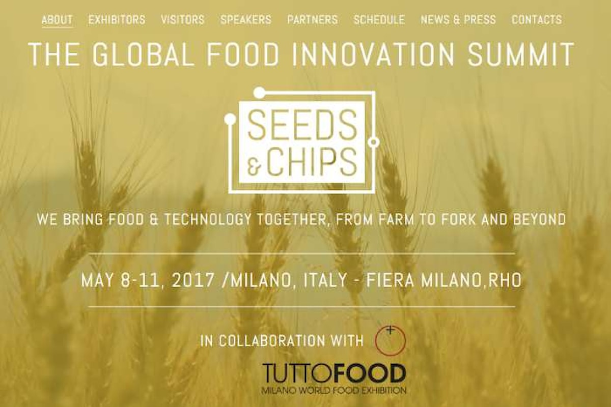 Seeds&Chips 2017, dall'8 all'11 maggio a Rho. Ospite d'onore Barack Obama