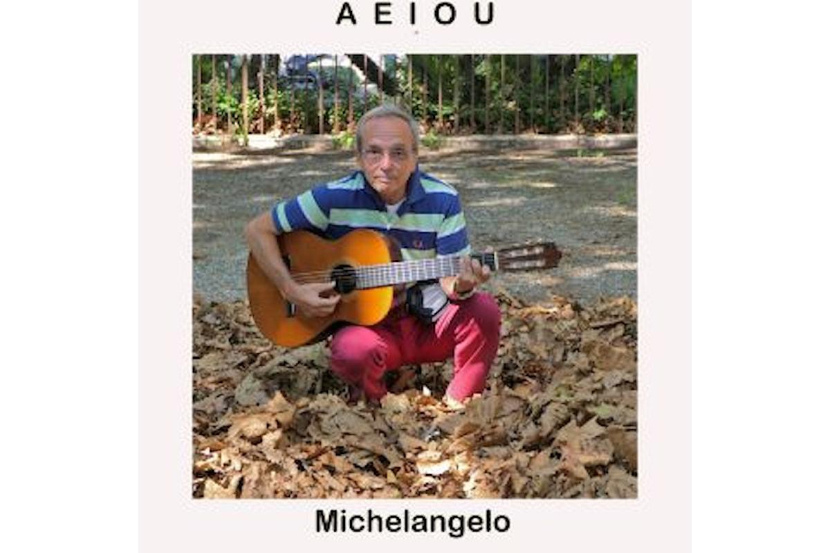"""MICHELANGELO """"AEIOU"""" è il nuovo singolo del cantautore genovese"""