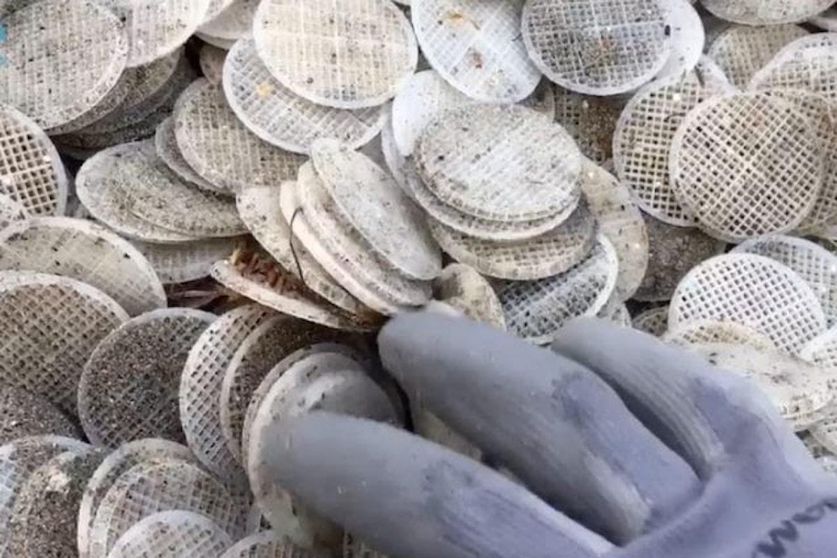 Risolto l'arcano dei dischetti di plastica
