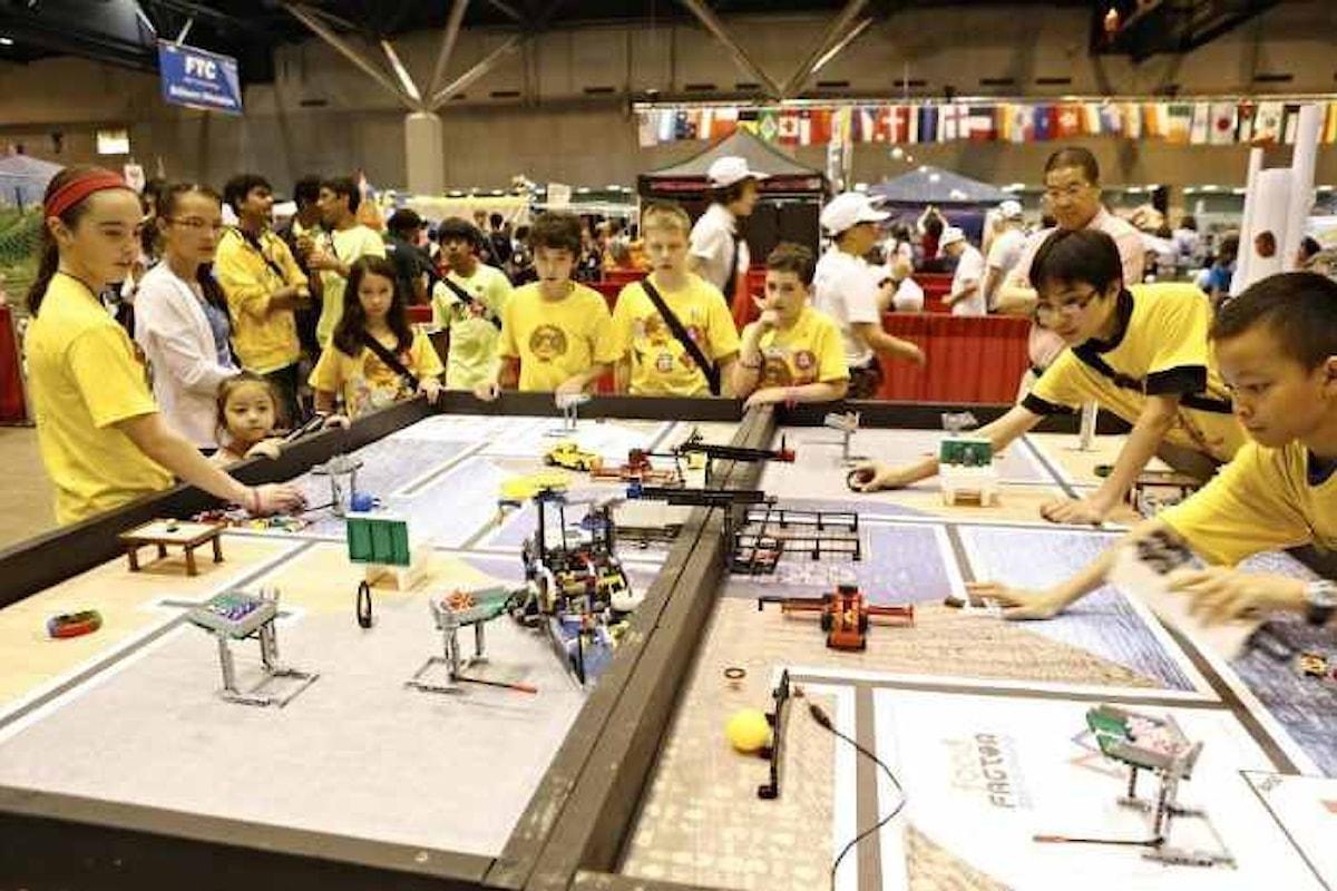 A Pistoia la selezione regionale per il Centro di FIRST® LEGO® League Italia