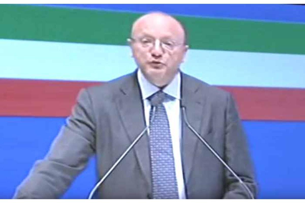 La relazione del neo presidente Vincenzo Boccia all'Assemblea 2016 di Confindustria