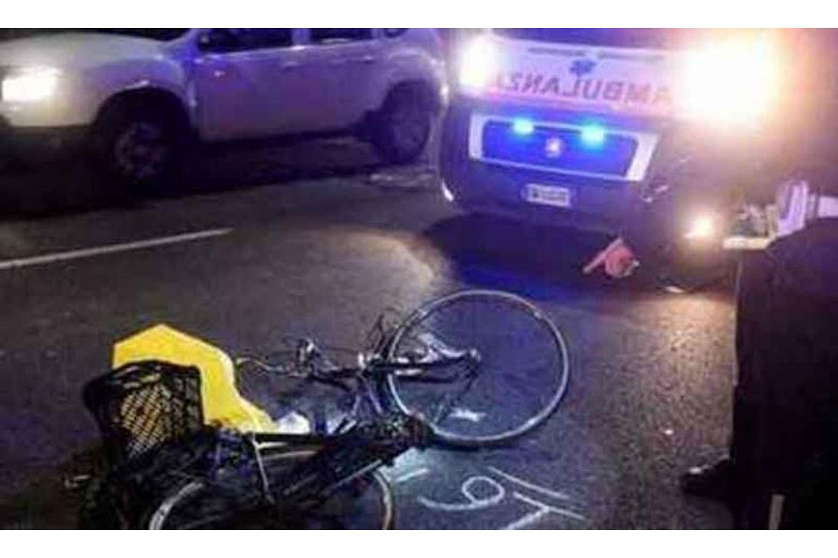 Impatto fatale con la sua bicicletta, muore giovane Senegalese nel salernitano