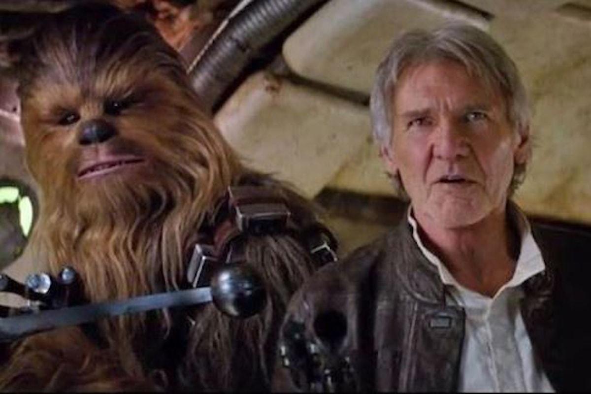 Anche Chewbacca nello spin-off di Star Wars su Han Solo