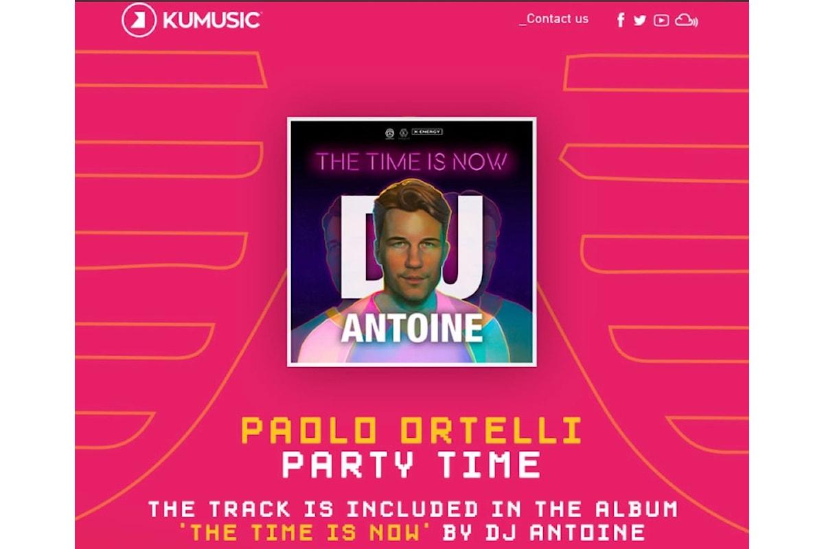 Ortelli: Party Time, prodotta con DJ Antoine, Machel Montano & Dago in The Time is Now, il nuovo album del dj producer svizzero