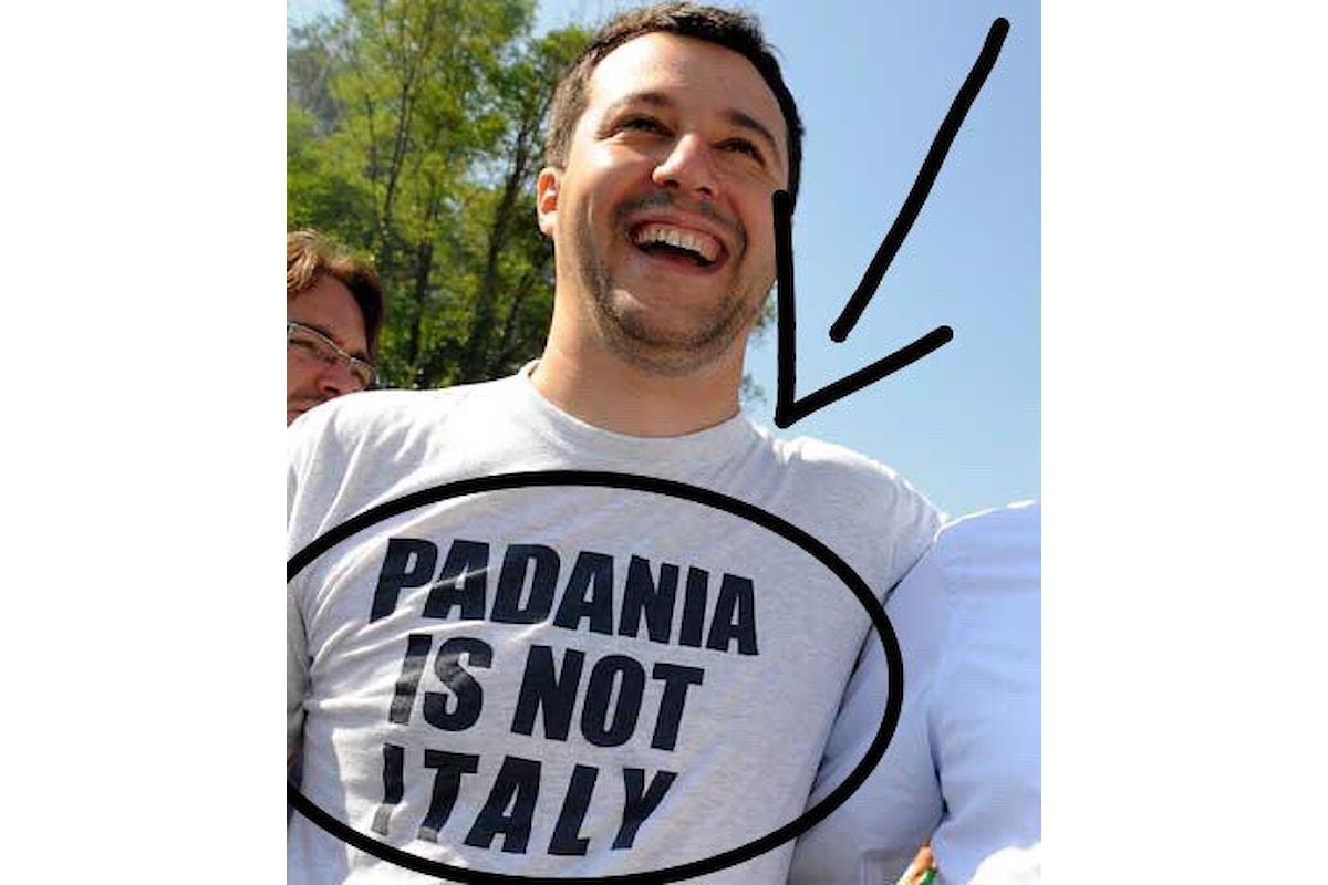 Salvini a tutta forza, di questo passo resteranno solo gli Italiani Puri