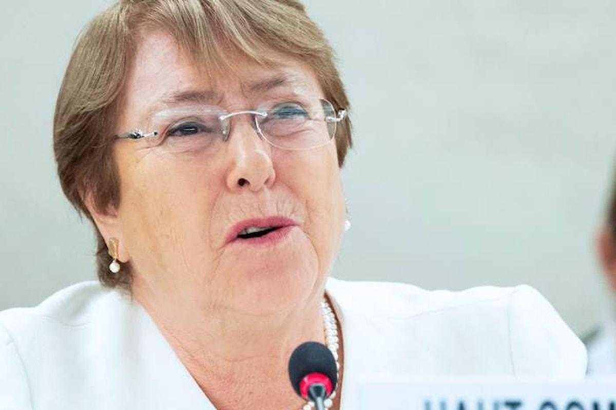 Michelle Bachelet: in Italia netto aumento di atti di violenza e razzismo contro migranti, persone di origine africana e rom
